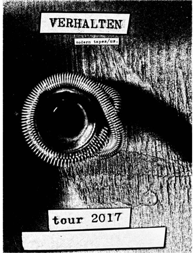 verhalten-tour-poster